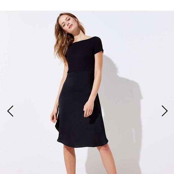 3c3c2c8efc42 LOFT Dresses & Skirts - LOFT MODERN MIXED MEDIA DRESS- BRAND NEW NO TAGSS